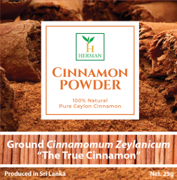 Pure Cinnamon Powder 25G-019
