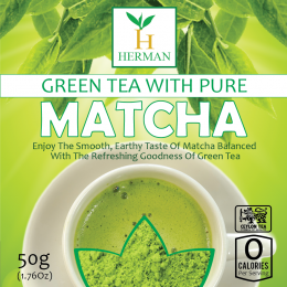 Green Tea with Pure Matcha